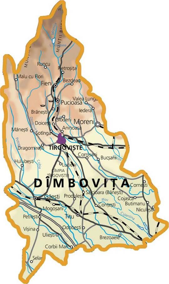 Judetul Dâmbovița